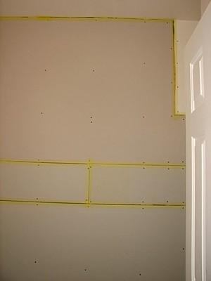 drywall up  5/2/2007